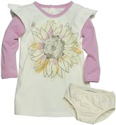 Burt's Bees Baby Watercolor Sunflower Dress Set (Baby) - Orchid-0-3 Months