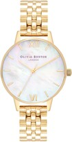 Olivia Burton Mother-of-Pearl Bracelet Watch, 30mm