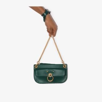 Chloé green Tess leather cross body bag