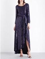 Diane von Furstenberg Delani sequinned gown