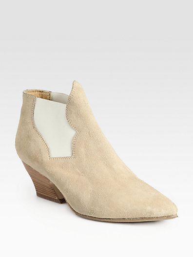 Acne Alma Suede Ankle Boots