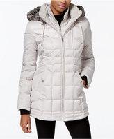 Nautica Faux-Fur-Hood Down Puffer Coat