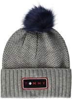 Tommy Hilfiger Women's Fur Pompom Beanie