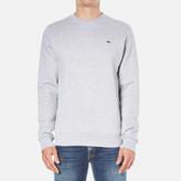 Lacoste Men's Sweatshirt Silver Chine