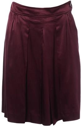 Etro Burgundy Skirt for Women