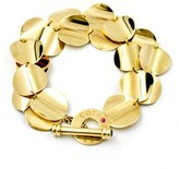 Roberto Coin 18K Yellow Gold Double Row Disc Toggle Bracelet