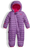 The North Face Quilted ThermoBall Bunting, Purple, Size 3-24 Months
