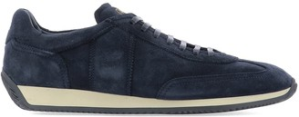 Fabi Suede Low-Top Sneakers