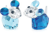 Swarovski Collectible Figurine, Bobby & Pierre Mice
