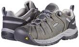 Keen Flint II (Soft Toe) (Steel Grey/Paloma) Women's Work Boots