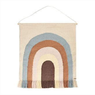OYOY - Follow The Rainbow Wall Rug Multi - 115*100 | wool