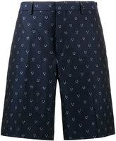 Fendi monster face printed shorts