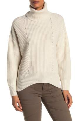 Magaschoni Long Sleeve Cashmere Chunky Sweater