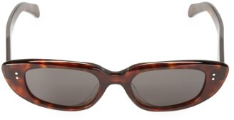 Celine 51MM Geometric Oval Sunglasses