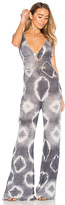 Jens Pirate Booty Amara Jumpsuit in Gray. - size M (also in XS)