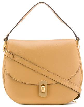 Coccinelle flap tote