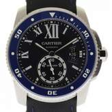 Cartier Calibre Blue Steel Watches