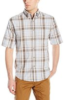 Wolverine Men's Mortar Cotton Blend Short Sleeve Shirt