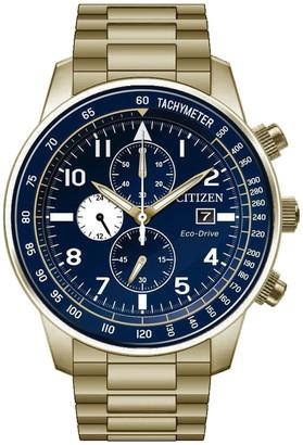 Citizen Men's Eco-Drive Chronograph Watch, 42mm