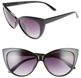A. J. Morgan Women's A.j. Morgan Spicy 53Mm Cat Eye Sunglasses - Black