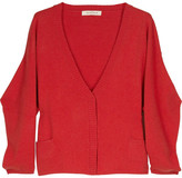 See by Chloé Cropped wool-blend cardigan