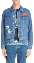 Kenzo Men's Denim Patch Jacket