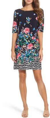 Eliza J Jersey Shift Dress