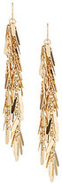 Natasha Accessories Tassel Linear Drop Statement Earrings