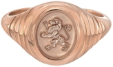 Retrouvaí Lion Baby Signet Ring - Rose Gold