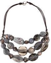 Brunello Cucinelli Stone Collar Necklace
