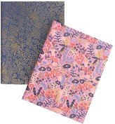 Pottery Barn Teen Rifle Paper Co. Tapestry Pocket Notebooks, Set of 2