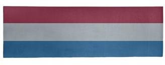 "Blue Area NHS National Hockey Stripes Rug East Urban Home Rug Size: Runner 2'6"" x 8'"