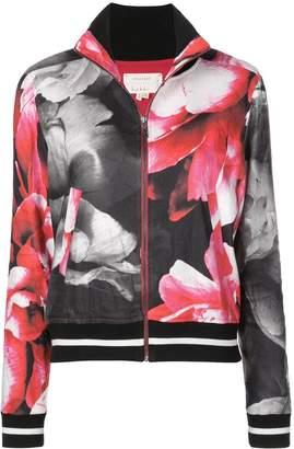Nicole Miller printed bomber jacket