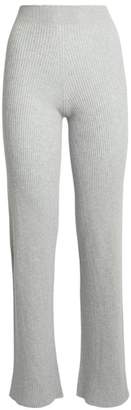 Harrods Ribbed Cashmere Trousers
