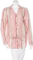 Rag & Bone Striped Button Up Shirt
