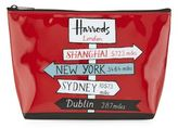 Harrods Sign Posts Travel Pouch