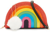Betsey Johnson I Love Hue Rainbow Crossbody Bag, Multi