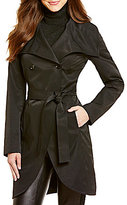 Antonio Melani Wintour Shawl Collar Trench Coat