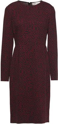 Diane von Furstenberg Cleo Printed Crepe-jersey Dress