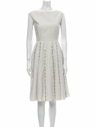 Bottega Veneta Linen Knee-Length Dress
