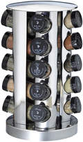 JCPenney Kamenstein 20-Jar Stainless Steel Spice Rack