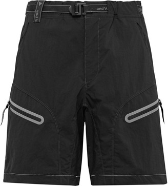 And Wander Belted Nylon-Blend Shorts