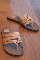 Dolce Vita Angela Flat Sandals in Cuoio