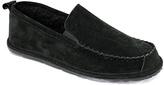 Lamo Black Newport Suede Moccasin
