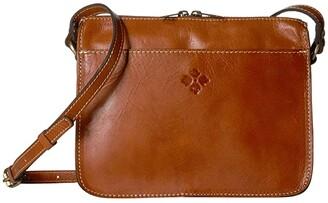 Patricia Nash Nazaire - Top Zip (Tan) Handbags