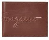Salvatore Ferragamo Kentucky Debossed Wallet