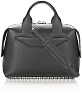 Alexander Wang Rogue Large Satchel In Black With Rhodium