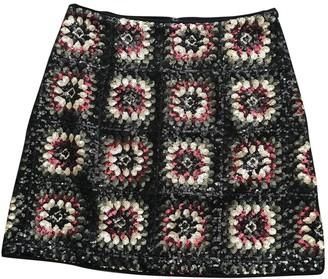 Ermanno Scervino Black Glitter Skirt for Women