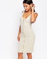 Lipsy Fleur East by Stone Zip Through Dress
