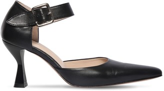 Kalda 70mm Niek Leather Pumps